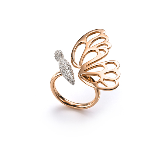Butterfly ring from Mattioli