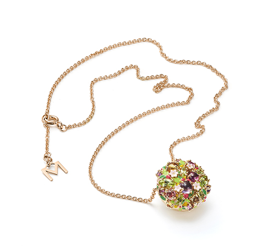 Pendant necklace from Mattioli's Little Arcimboldo collection