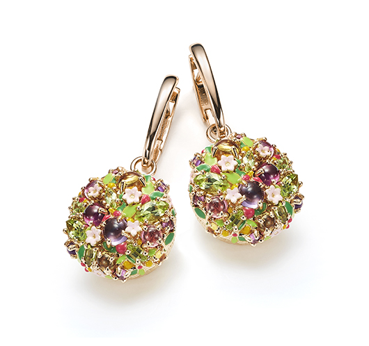 Earrings from Mattioli's Little Arcimboldo collection