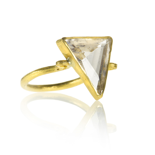 Margery Hirschey topa ring in gold