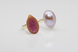CPAA Orient Award, Pearl Geode by Hisano Shepherd of Los Angeles, Calif.