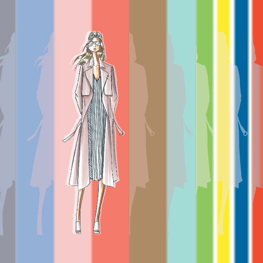 Pantone's Fashion Color Report for Spring 2016