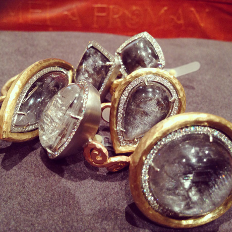 New rings from Pamela Froman