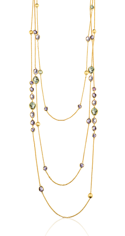 Long station necklaces in the Panorama collection from John Hardy