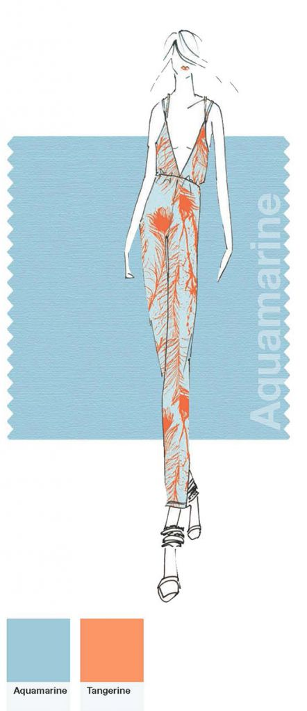 Rachel Pally/sketch by Pantone