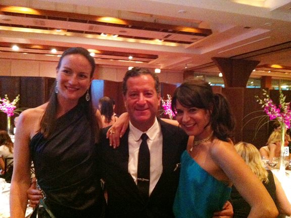 Amanda Gizzi, Robin Rotenir, and Michelle Orman at the 2013 WJA Awards for Excellence Gala