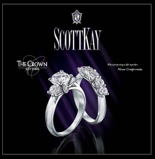 Ad for Scott Kay jewelry