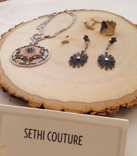 Gold and diamond jewels from Sethi Couture