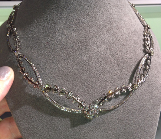 New necklace from Sethi Couture