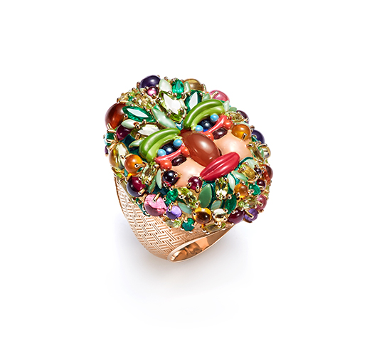 Summer ring from Mattioli's Arcimboldo collection