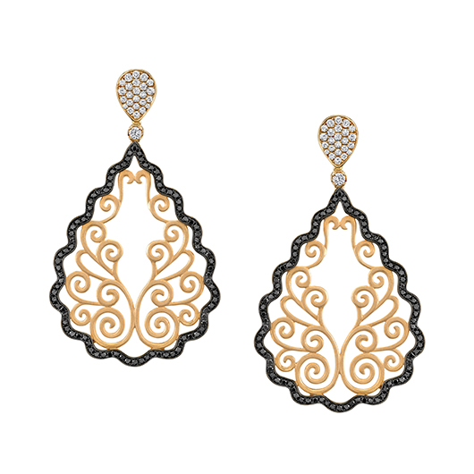 Sylvie Collection Lustre Collection earrings