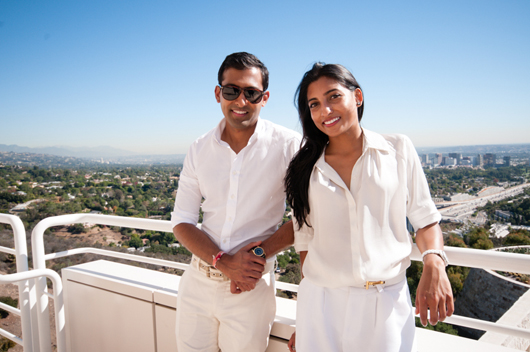 Brother-and-sister Anar and Tej Bhansali of Bhansali Jewelry