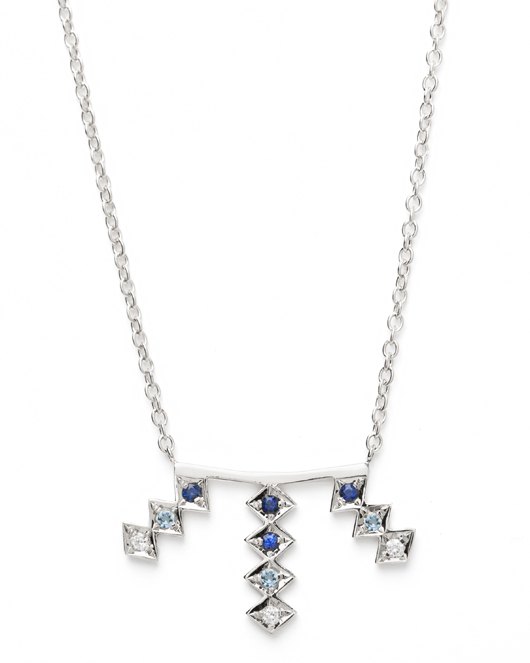 Triple Burst pendant necklace from Azlee