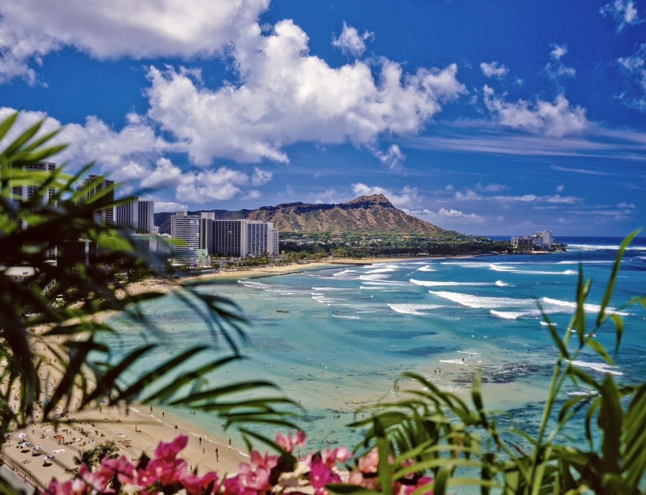 Waikiki Beach, Hawaii; photo from Thinkstock