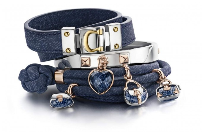 Tirisi leather wrap bracelets with charms