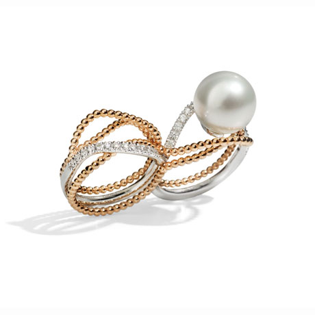Utopia pearl ring