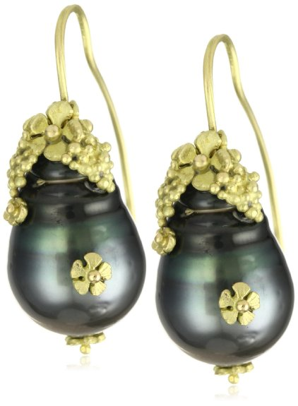 Vibes Tahitian pearls in gold