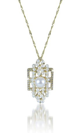 Pearl pendant necklace from the new Vintage 795 collection by Imperial