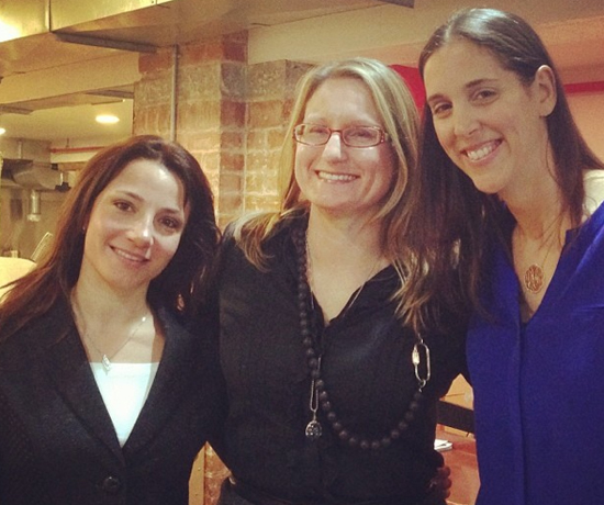 Kristin Hanson, Jennifer Heebner, and Danielle Ingwer Cohen of WJA Metropolitan Chapter