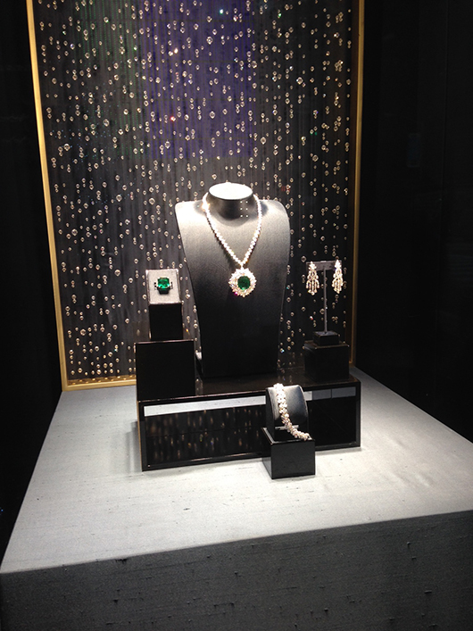 Harry Winston window display