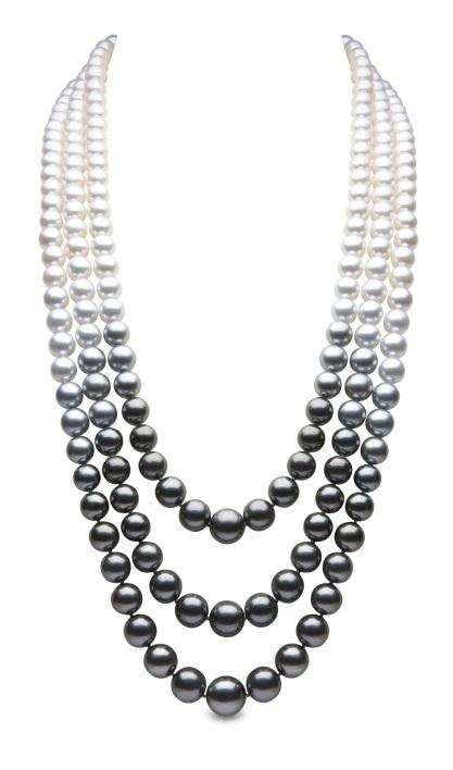 Yoko London ombe pearl necklace