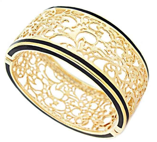 Andrew Hamilton Crawford Perception filigree cuff bracelet