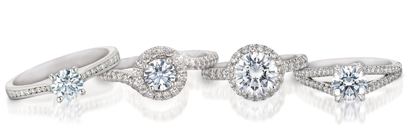 A. Link diamond bridal collection