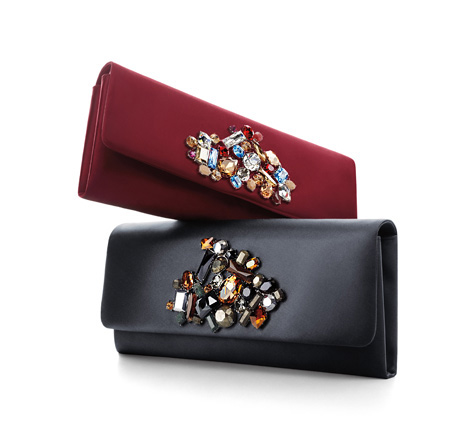 Galaxy clutches from Tiffany