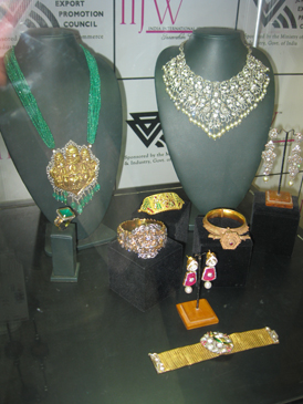 Indian-style jewelry from the show