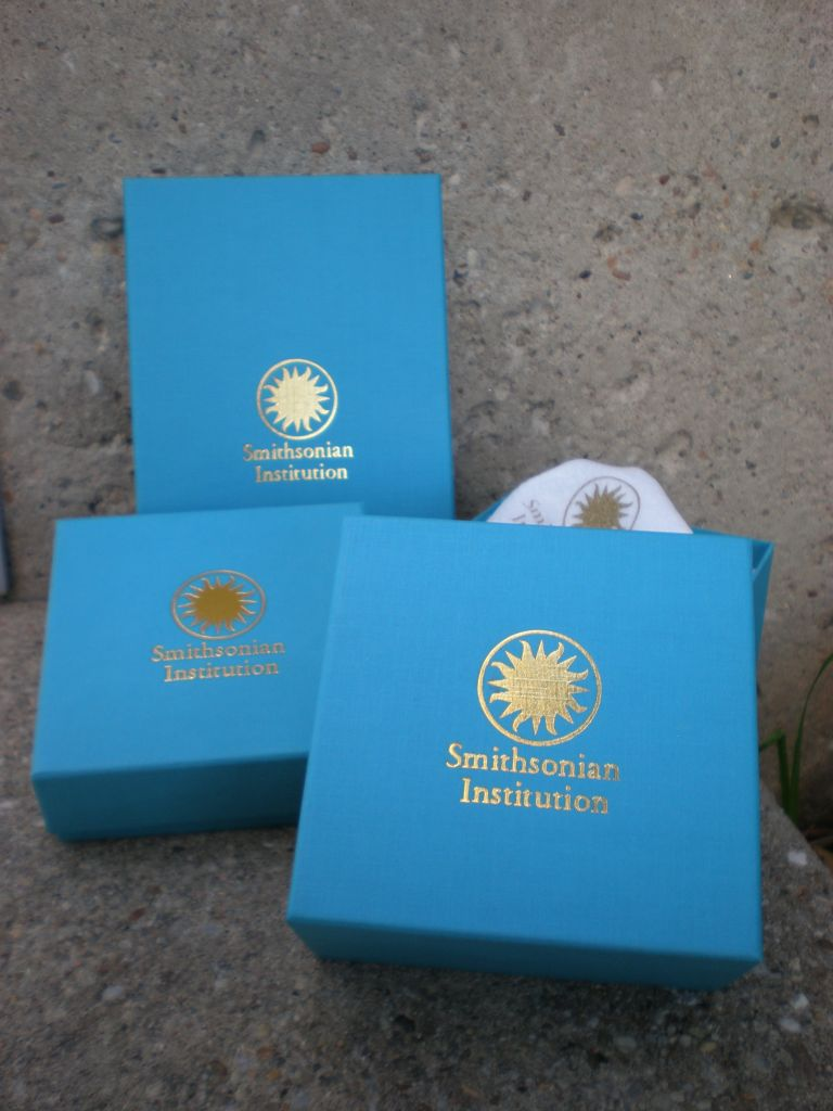 QVC/Smithsonian packaging