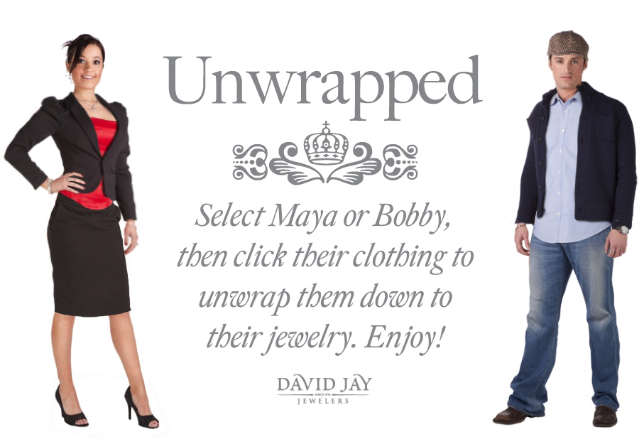 David Jay Jewelers Unwrapped Couple