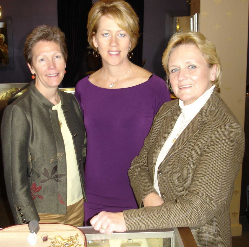 Patti Geolat, Laurie Kottke and Kate Peterson