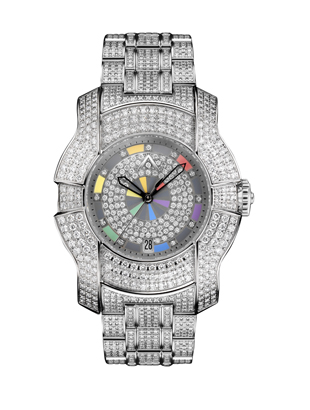 Armaan Swiss Diamond Watch