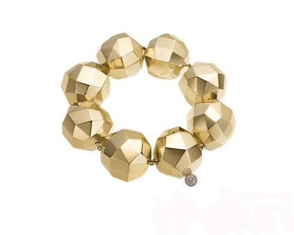 Copernicus Sphere bracelet in 18k yellow gold