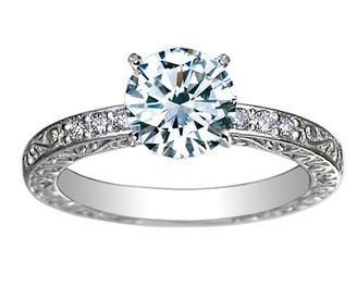 Brilliant Earth diamond ring