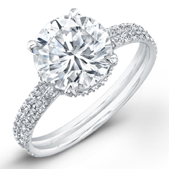 Norman Silverman Diamond Ring