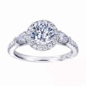 Gabriel & Co. diamond ring