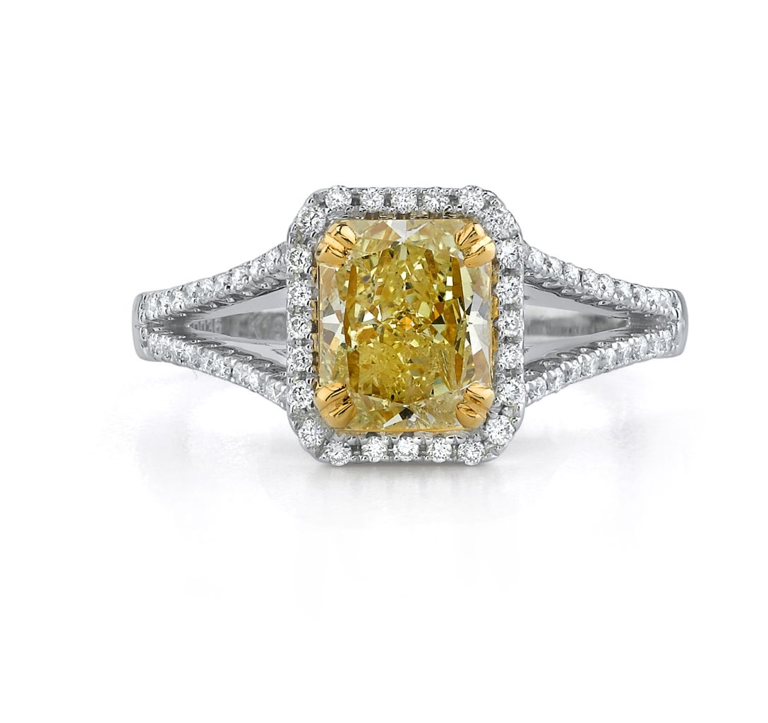 Natalie K. yellow diamond ring