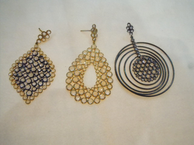 Silver and topaz from Sutra Jewels