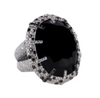Lorraine Schwartz black diamond ring