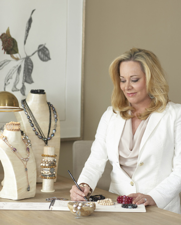 Theresa Bruno of Jordan Alexander Jewelry