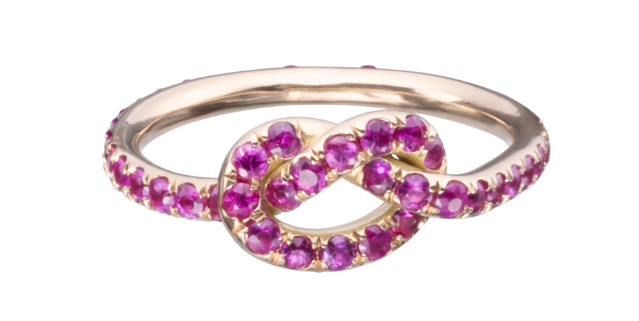 Finn Jewelry ruby Knot ring