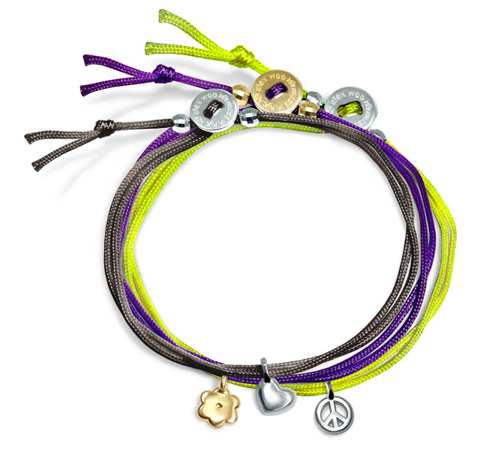 Alex Woo Mini Addition cord bracelets