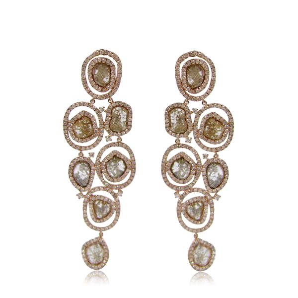 Royal India's floating bubble earrings