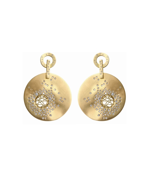 Nada G's bubble earrings