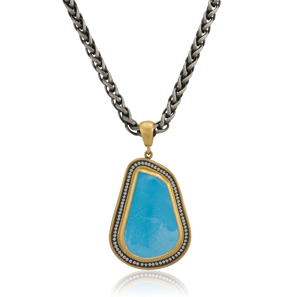 Lika Behar's Turquoise necklace