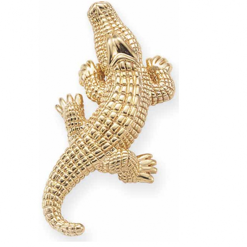 Carla Corporation Alligator brooch