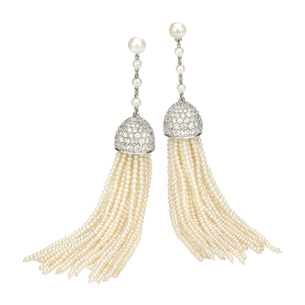 Ivanka Trump tassel earrings