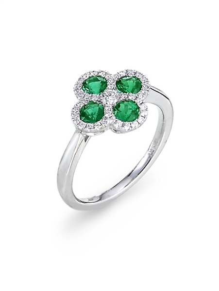 Spark Creations emerald ring