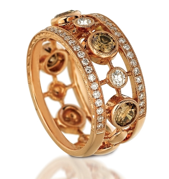 Le Vian Couture Strawberry Gold band